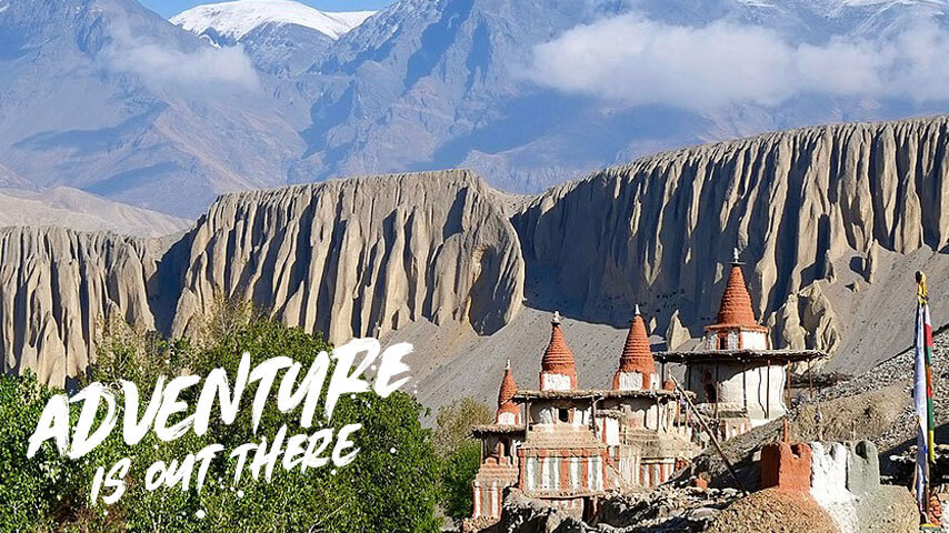 Upper Mustang Trek (Lo-Manthang) Video
