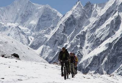 Mountain Biking Kathmandu valley Rim and beyond Tour